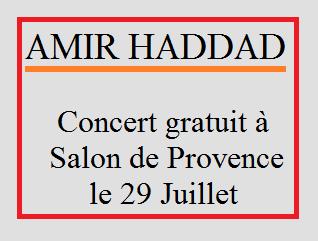 Amir Haddad en concert